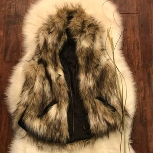 The Bagatelle Faux fur vest